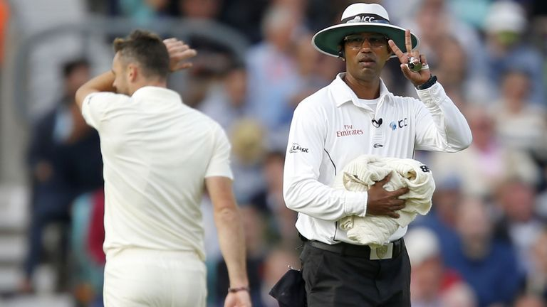 James Anderson fined for dissent in India Test