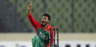 Shakib fears infected finger will never fully recover
