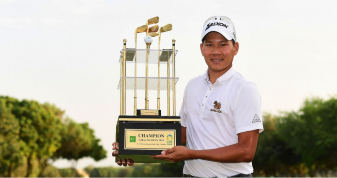 Kaewsiribandit emerges winner at CNS Asian Open golf championship