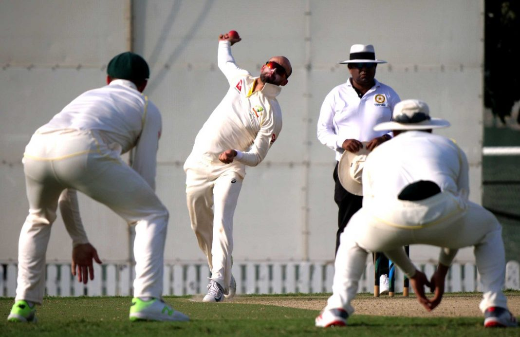 Lyon picks eight wickets in a drawn game against Pakistan A