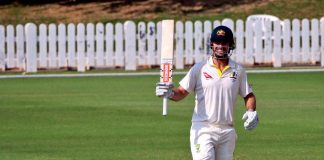Marsh hundred gives Australia big lead in warm-up game