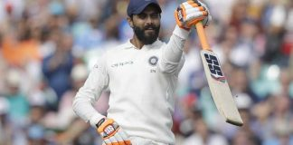 Jadeja hits debut ton as India declare on record 649-9
