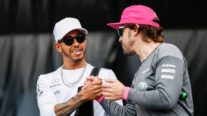 Alonso puts Hamilton in top five of all time -- but not Vettel