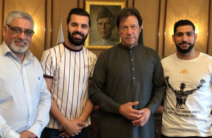 PM Imran hails Amir for promoting boxing in Pakistan