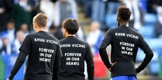 Leicester pay emotional tribute to Vichai, Foyth fires Spurs