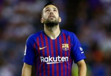 Barcelona's Alba denies rift with Spain coach Enrique