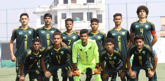 Pakistan SAFF U-15 Football Championship final
