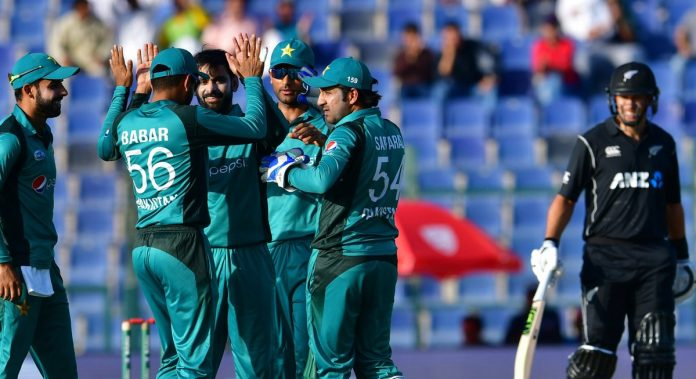 Shaheen, spinners restrict New Zealand to 209/9