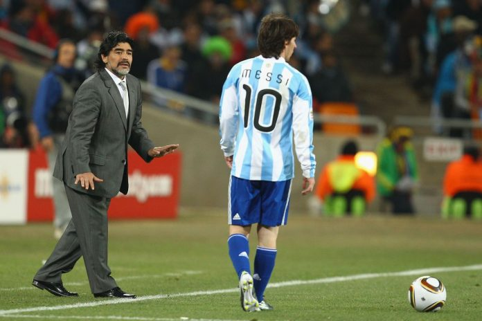 'I love Leo' - Maradona denies Messi criticism
