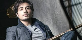 Singer Ali Zafar meets hockey team at the training camp