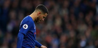 Chelsea's Hazard out of Europa game with ankle knock