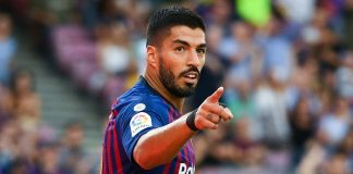 Suarez to miss two weeks for knee treatment