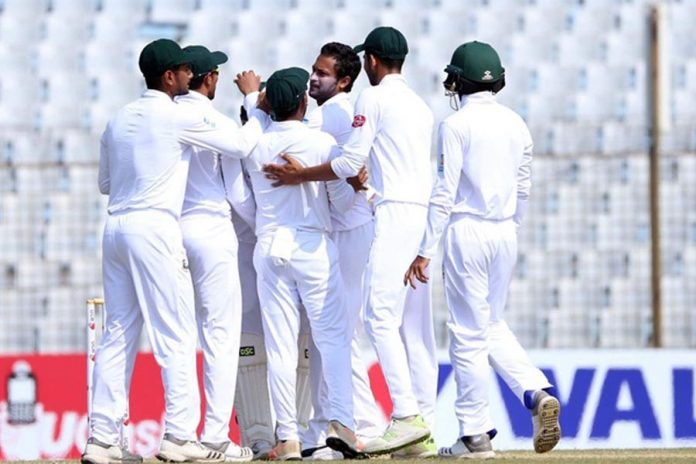 Mehidy lifts Bangladesh to first innings win, series sweep