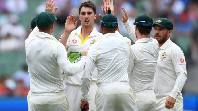 India in charge but devastating Cummins gives Australia hope