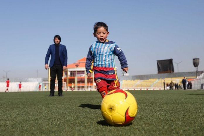 From dream to nightmare: Afghan 'Little Messi' forced to flee