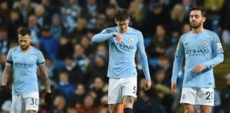 Man City's title bid hit by shock defeat at Leicester