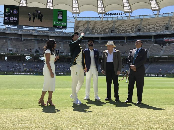 Australia win toss and bat in second India Test