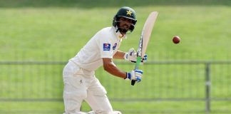 Masood's resilience takes Pakistan to 190