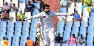 Pakistan fight back after Olivier takes six