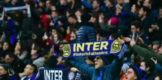 Inter Milan to play two league home games behind closed doors
