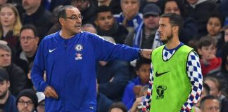 Sarri wants Hazard saga resolved