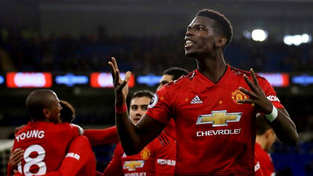 Pogba doubles again as Solskjaer extends perfect start