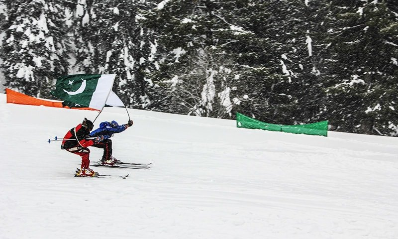 Two-day snow festival concludes in Malam Jabba
