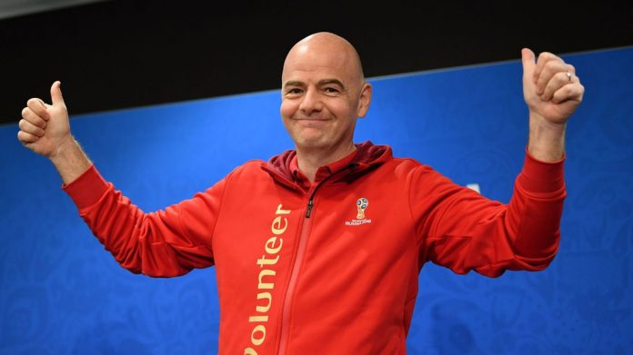 Infantino says he has wide support for 48-team World Cup in Qatar