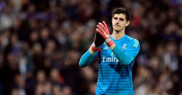 Blow for Real Madrid as Courtois suffers hip injury