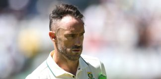 Du Plessis to miss the third Test against Pakistan