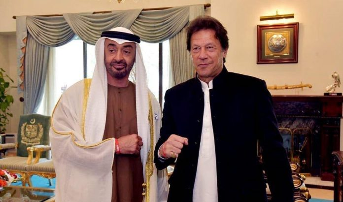 PM Imran, UAE Crown Prince