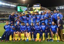 "India praised for ""perfect finish"" to historic Australia tour"