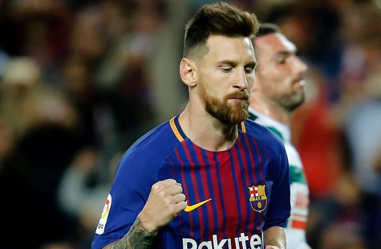 4eb1bde0130 BARCELONA: Lionel Messi came off the bench to inspire Barcelona to a 3-1  win over a dogged Leganes side on Sunday, creating one goal and scoring  another to ...