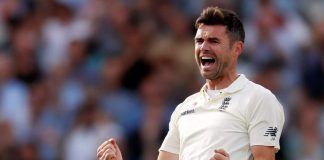 Anderson equals Botham record, England dismiss Windies for 289