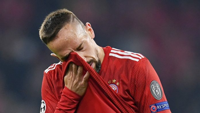 Bayern Munich hand Ribery 'heavy fine' for angry Tweetstorm