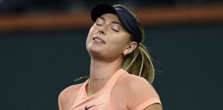 Injured Sharapova retires from Shenzhen quarters