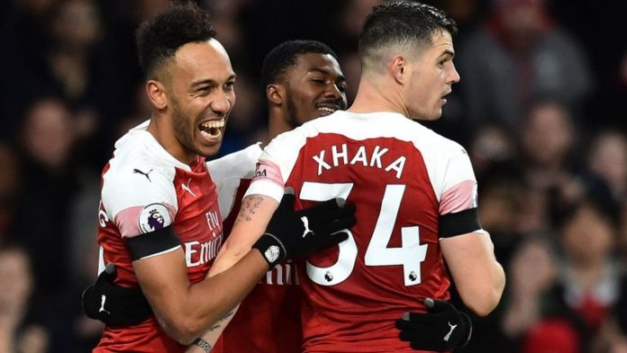 Arsenal bounce back to rout feeble Fulham