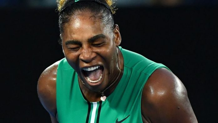 Serena outslugs top seed Halep as Zverev implodes at Open