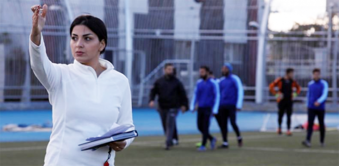 Woman coach scores wins for Syrian men's team