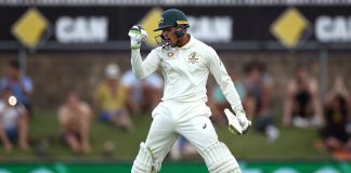 Khawaja smacks century as Sri Lanka chase massive 2nd Test total