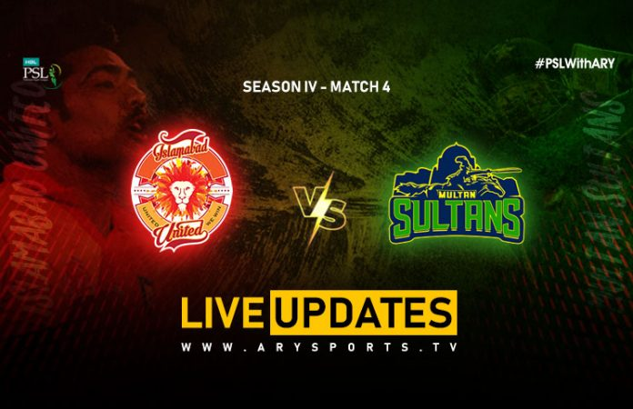 Multan Sultans vs Islamabad United
