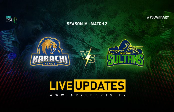LIVE: Karachi Kings eye winning start against revamped Sultans