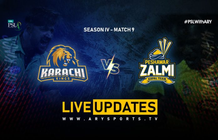 LIVE: Karachi Kings take on Peshawar Zalmi in PSL 4