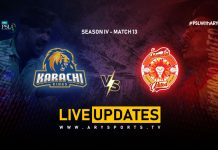 LIVE: Karachi Kings take on Islamabad United