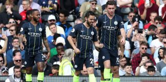 Man City back on top, Huddersfield go down