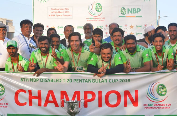 Federal Areas clinch Disabled T20 Pentangular Cup
