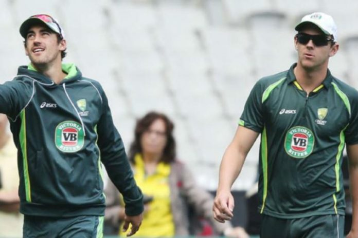 Injured Hazlewood, Starc on track for World Cup
