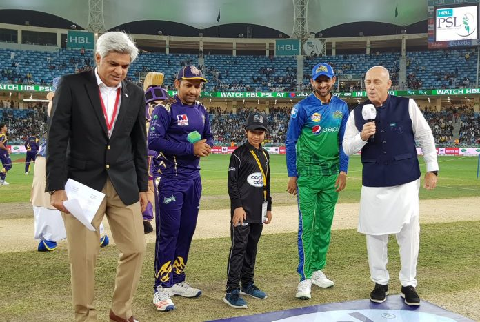 Quetta Gladiators won the toss and elected to bowl first