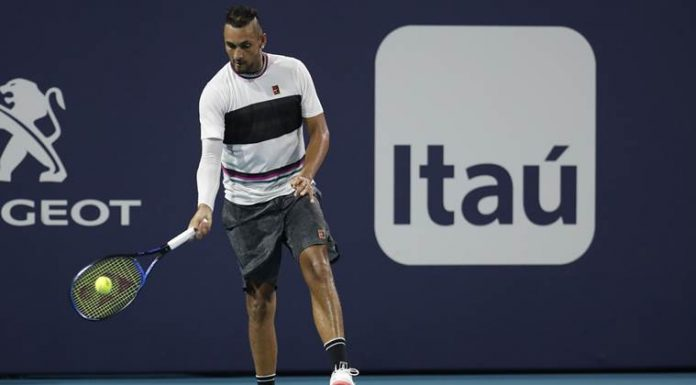 Underarm or underhanded? Kyrgios serve stokes debate