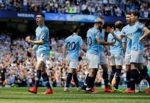 Man City edge out Spurs to go top, Brighton scramble key point